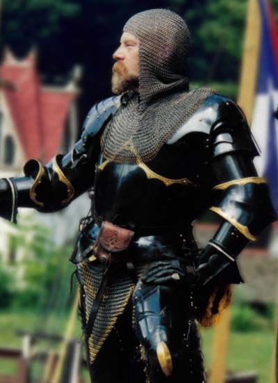 Blackened Gothic Armour