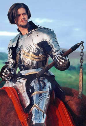 William Hurt in Gothic Armour