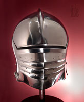 Italian Bellows Visor Sallet
