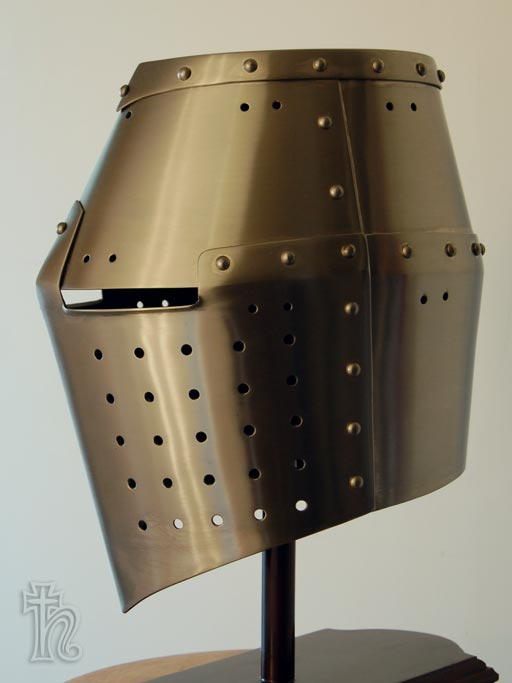 13th century Great Helm - Age of Armour
