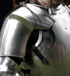 15th century Italian Pauldrons and Cuirass